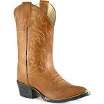 Old West Kids Narrow J Toe Boot