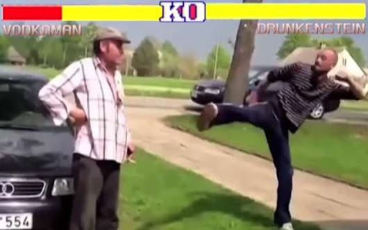Street Fighter: Crazy Drunk Russian Edition... - Highpants