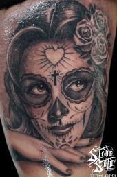 Dia De Los Muertos Tattoos Tattoomagz