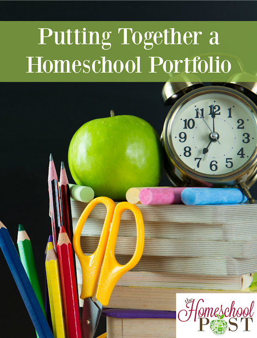 Putting Together a Homeschool Portfolio - The Homeschool Post