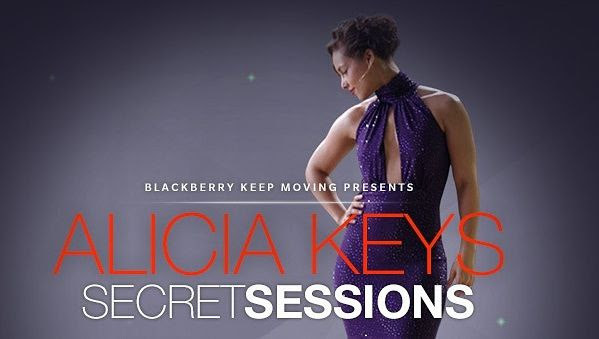 Alicia Keys : Secret Sessions photo alicia_blackberry_session.jpg