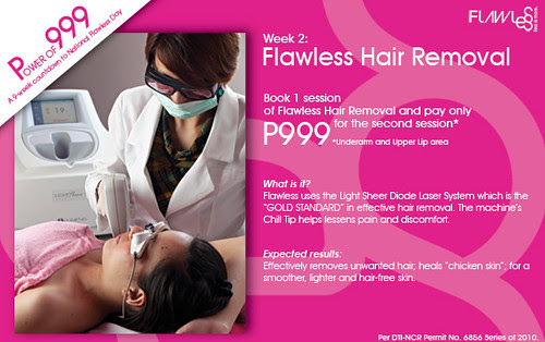 Flawless Hair Removal