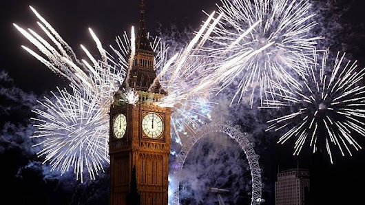 Mayor of London's New Year's Eve Fireworks Display