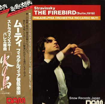 MUTI, RICCARDO stravinsky; the firebird (suite 1919)