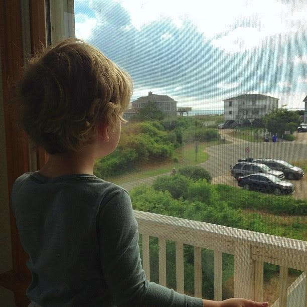 Watching the ocean... #wonder