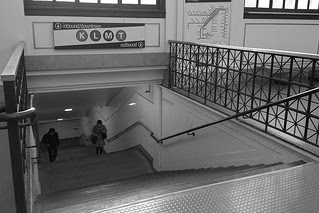 Forest Hill Station - Stairs