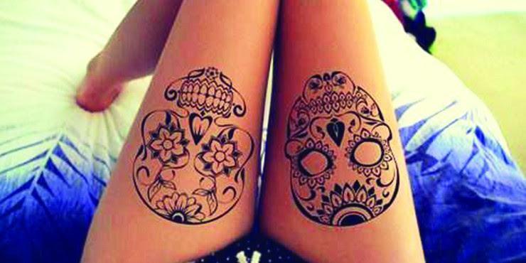 20 Fascinantes Tatuajes Para Las Amantes De Las Calaveras