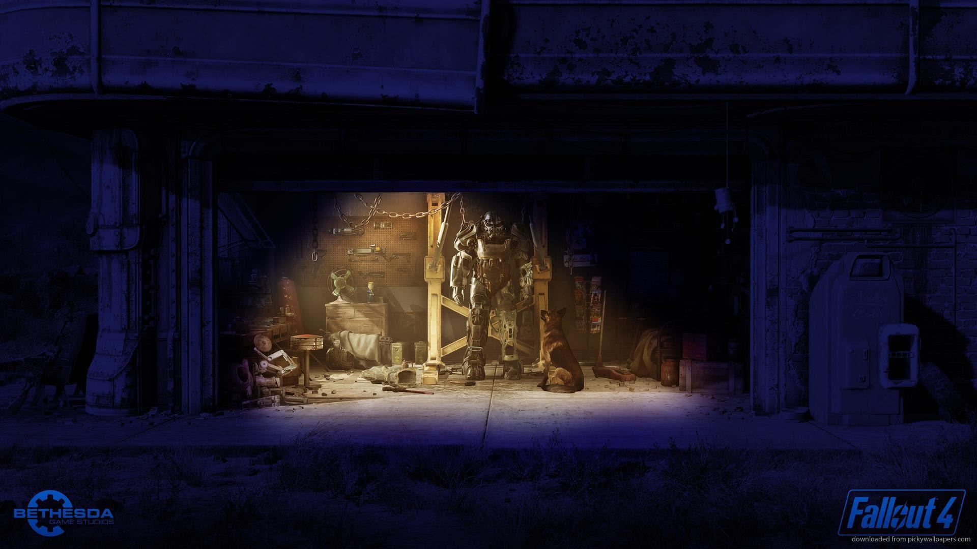 Fallout 4 Garage Wallpaper 89 Images