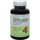 American Health Papaya Enzyme, with Chlorophyll, Vegetarian Formula, Chewable Tablets - 250 tablets