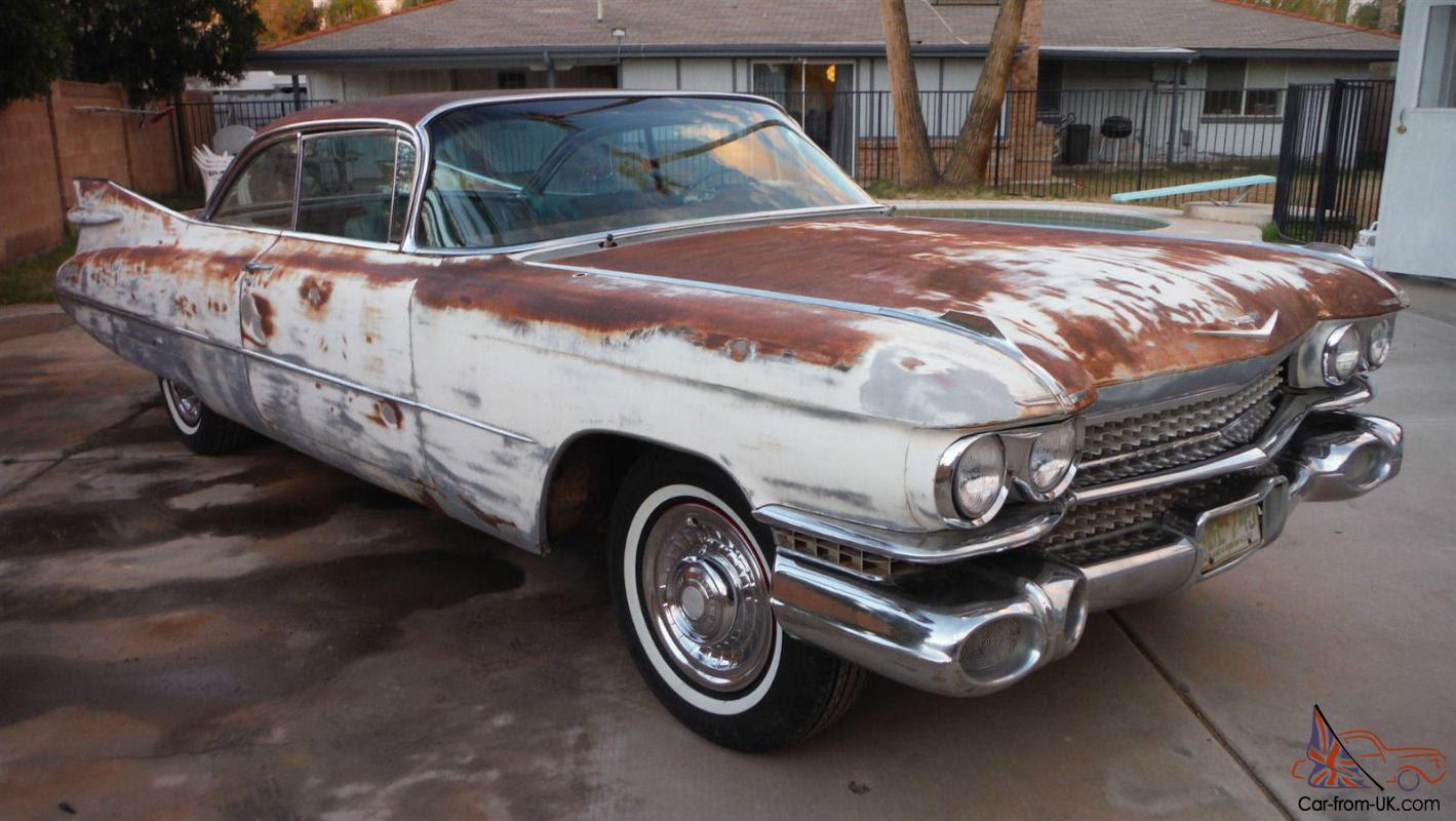 1959 Cadillac Coupe DeVille 2drht. AZ car. Great body ...
