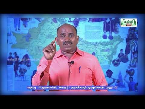 8th Social Science குடிமையியல் குடிமக்களும் குடியுரிமையும் பருவம் 1 அலகு 2 Kalvi TV