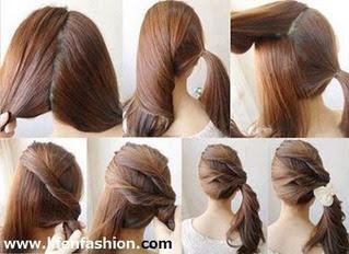 自分でできるヘアアレンジ結婚式 - 結婚式・二次会の自分でできる髪型の手順付ミディアムヘア