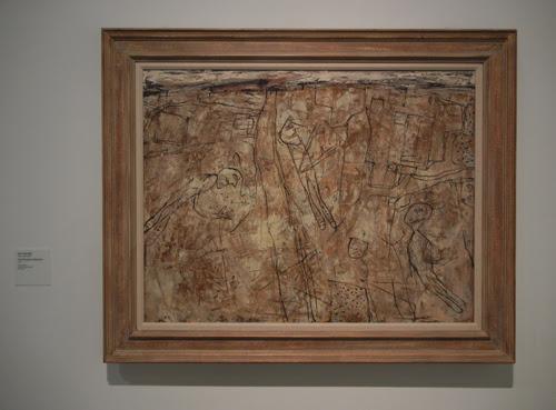 DSCN7912 _ L'Effacement des Souvenirs (The Effacement of Memories), 1957, Jean Dubuffet (1901-1985) LACMA