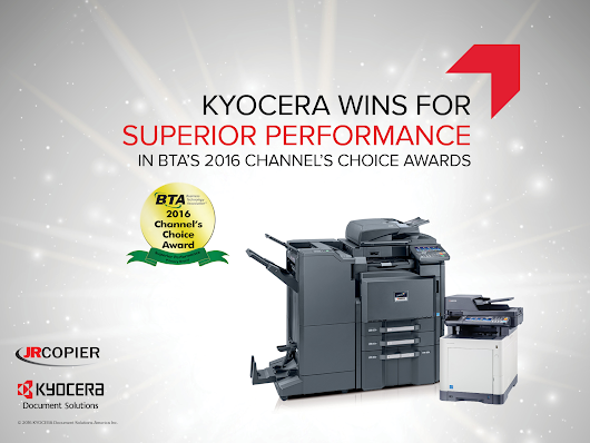 KYOCERA Document Solutions America Wins Big at BTA Channel's Choice Awards
