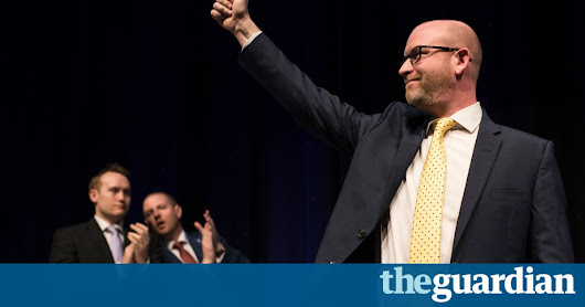 Ukip leader Paul Nuttall under pressure over claims he served on charity board | Politics | The Guardian