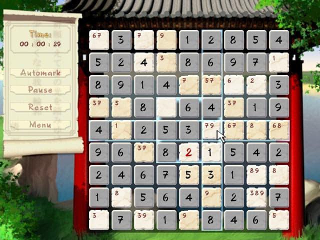 Sudoku Free PC Game Screenshot