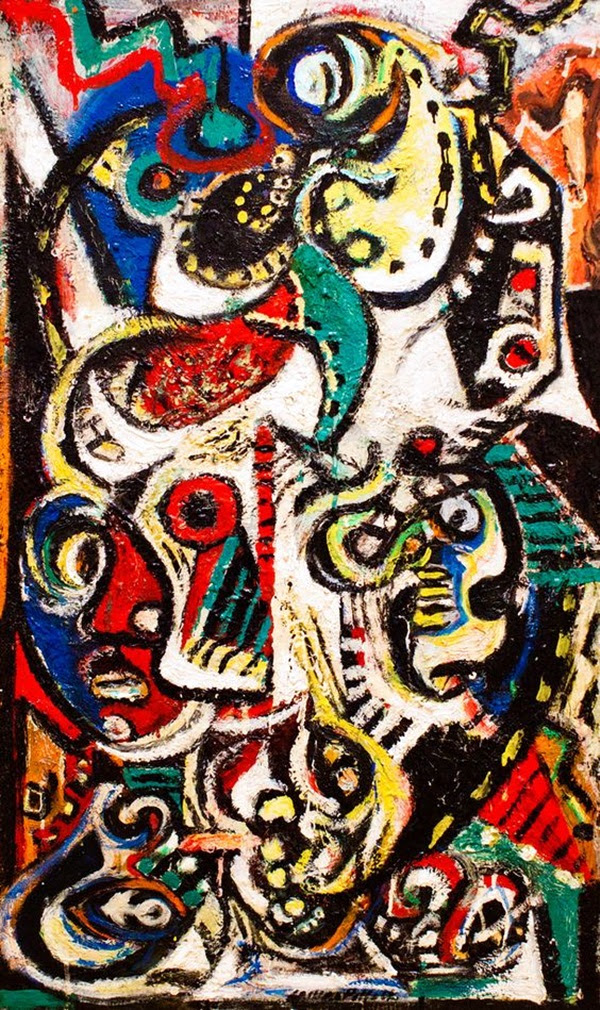 Beautiful Examples of Abstract Expressionism Art Works (22)