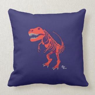 T Rex Pillow
