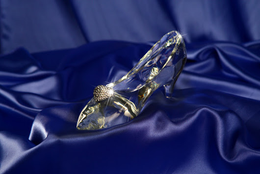 Enter to Win a Disney Fairy Tale Glass Slipper
