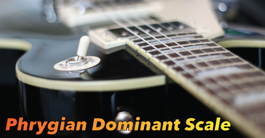 Phrygian Dominant Guitar Scale TAB, Notation & Diagrams.