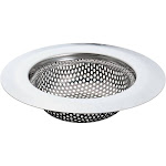 """4.25"""" Durable Perforated Stainless Steel Kitchen Sink Food Trap Sink Strainer"""