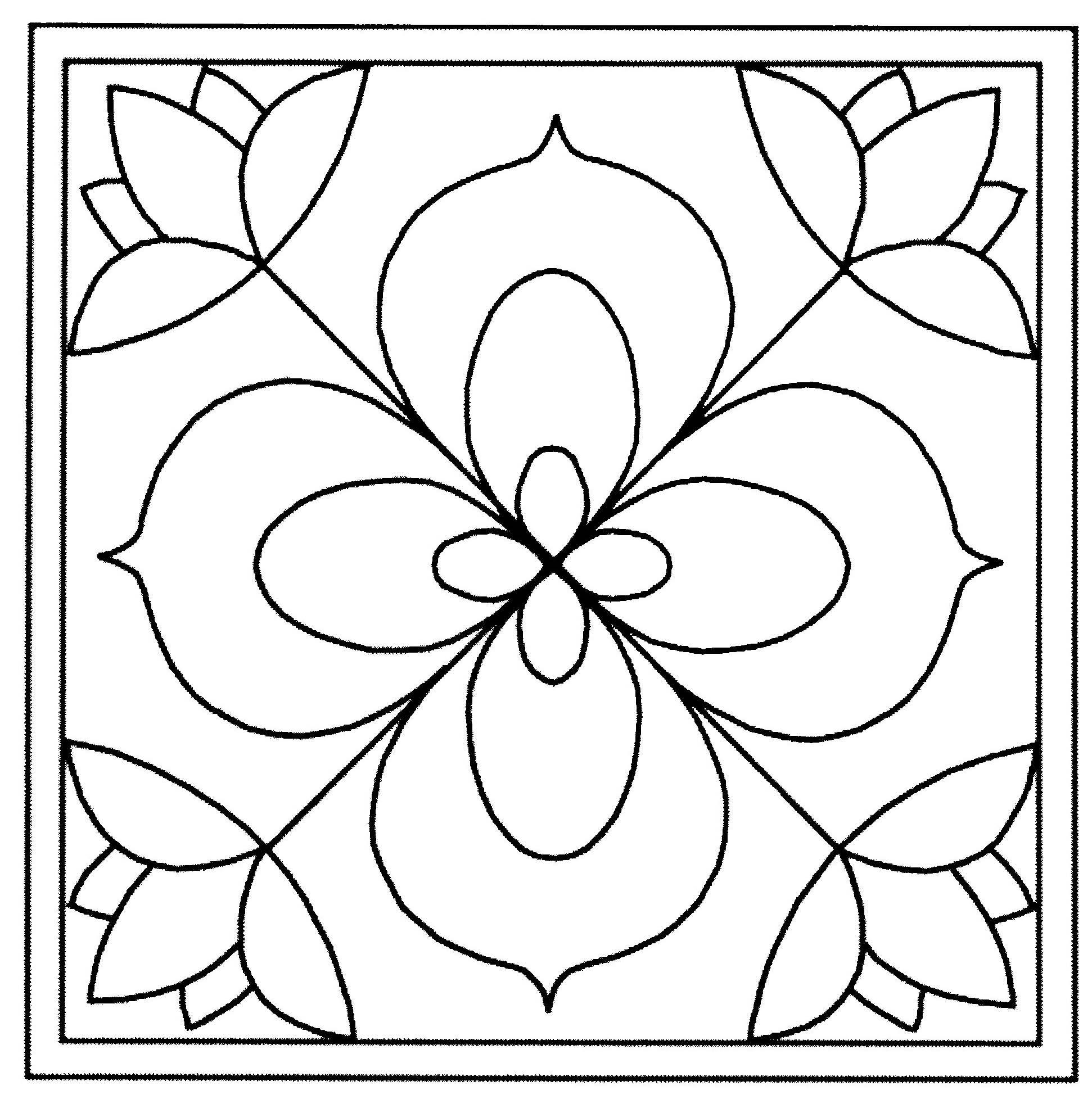 carreau fleurs