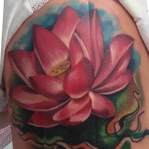 Flor De Loto Tattoo Tattoo Tatuaje Tinta Ink Skin