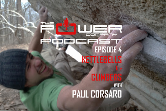 Episode 4: Kettlebells for Climbers with Paul Corsaro