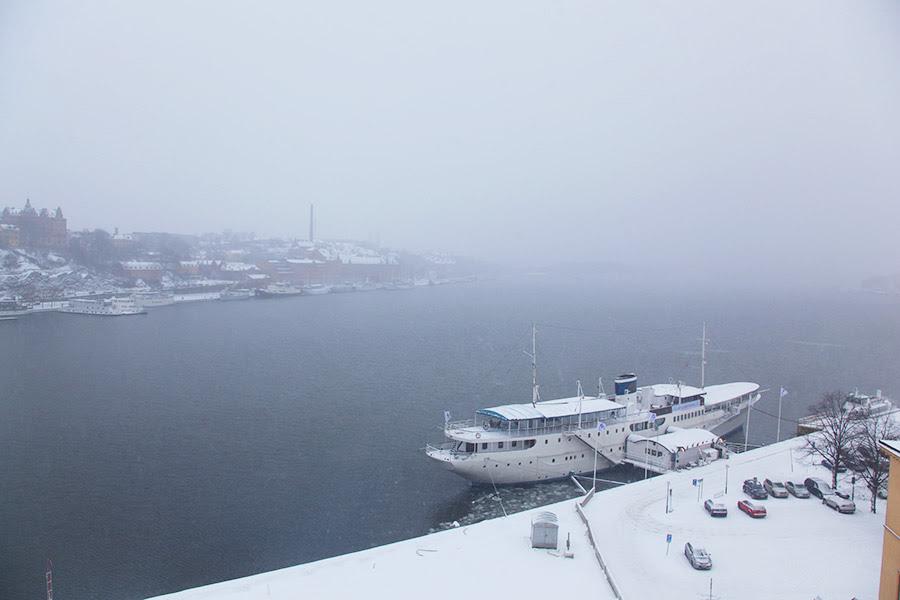Telhados de Estocolmo!