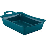 "Rachael Ray 9"" x 13"" Ceramics Rectangular Baker - Teal"