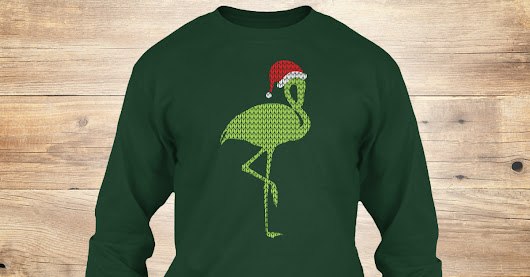Christmas Gift With A Egret Shirt