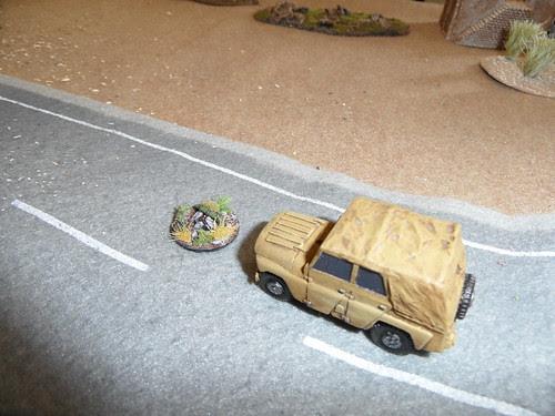 Jeep hits IED