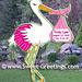Stork - Pink