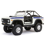 1/10 SCX10 III Early Ford Bronco 4WD RTR, White