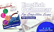 English Grammar PDF for Competitive Exams by KD Publication