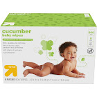 Up & Uptm Cucumber Baby Wipes, 800 Count
