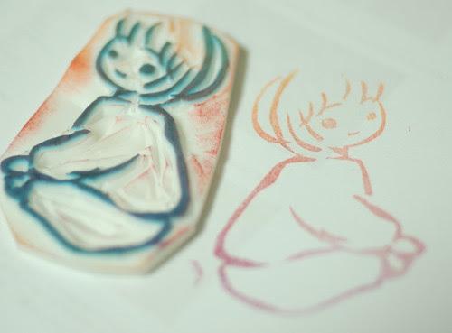 Miyu stamp