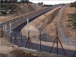 on Egypt border fence