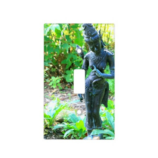 hindu garden statue cover light switch plates  Zazzle