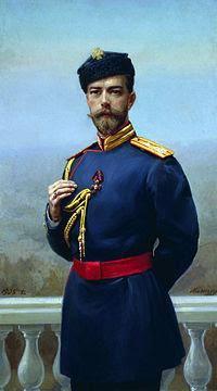 Nicholas II with St Vladimir order.jpg