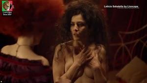Leticia Sabatella sensual na serie Amor te amo