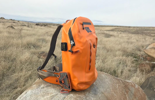 Fishpond Thunderhead Submersible Backpack Review - Man Makes Fire