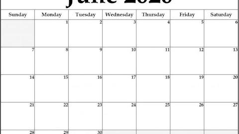 Calendar 2020 Malaysia Printable