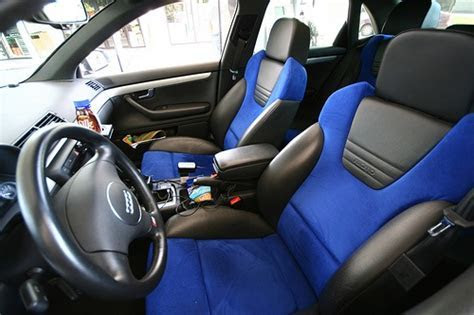 2004 S4 Alcantara seats. Coolest interior ever   Cars