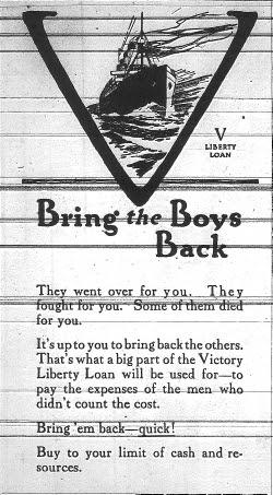 Victory Loan ad