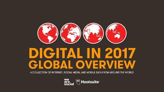 Digital in 2017 Global Overview