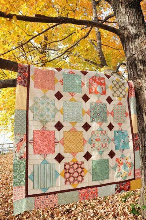 I love and country quilts