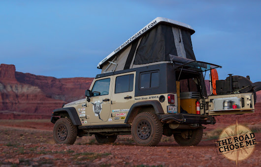 Man modifies Jeep into comfy dwelling for epic African adventure