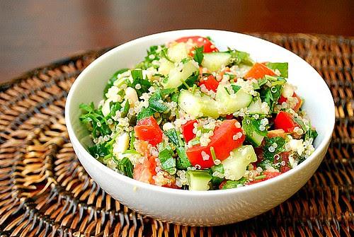 Taste of Israel: Quinoa Tabbouleh Salad