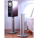 VTI UF29S Cast Iron Speaker Stands (29 inch Silver)